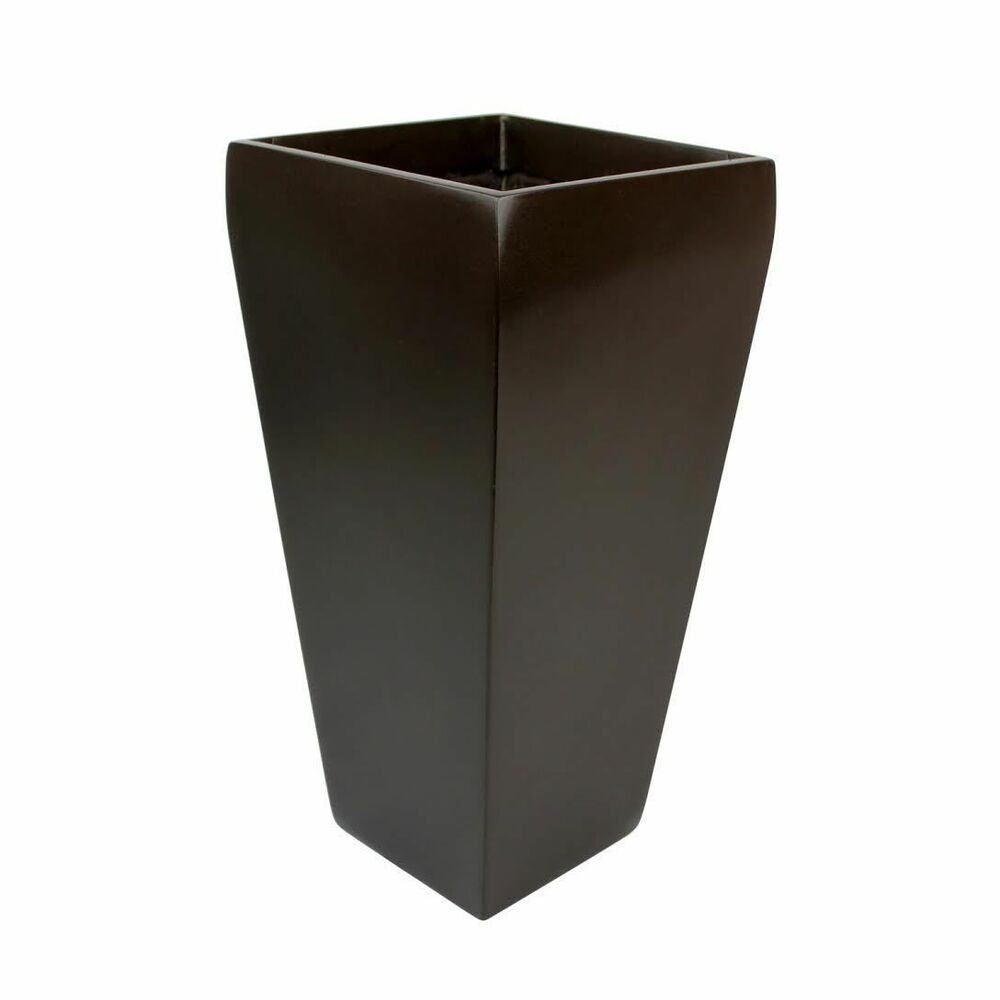 Root And Stock Windsor Tall Square Modern Garden Planter