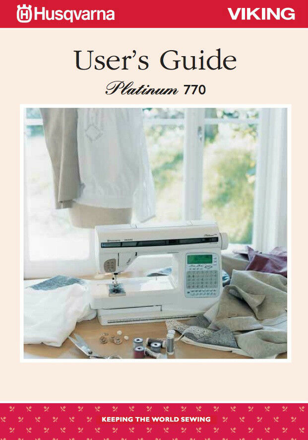 husqvarna viking platinum 775 sewing machine