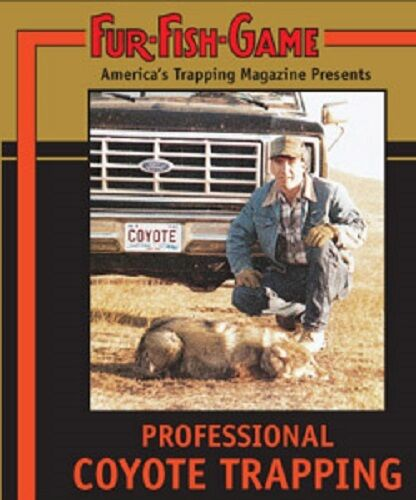 Professional coyote trapping video dvd by fur fish for Fur fish and game