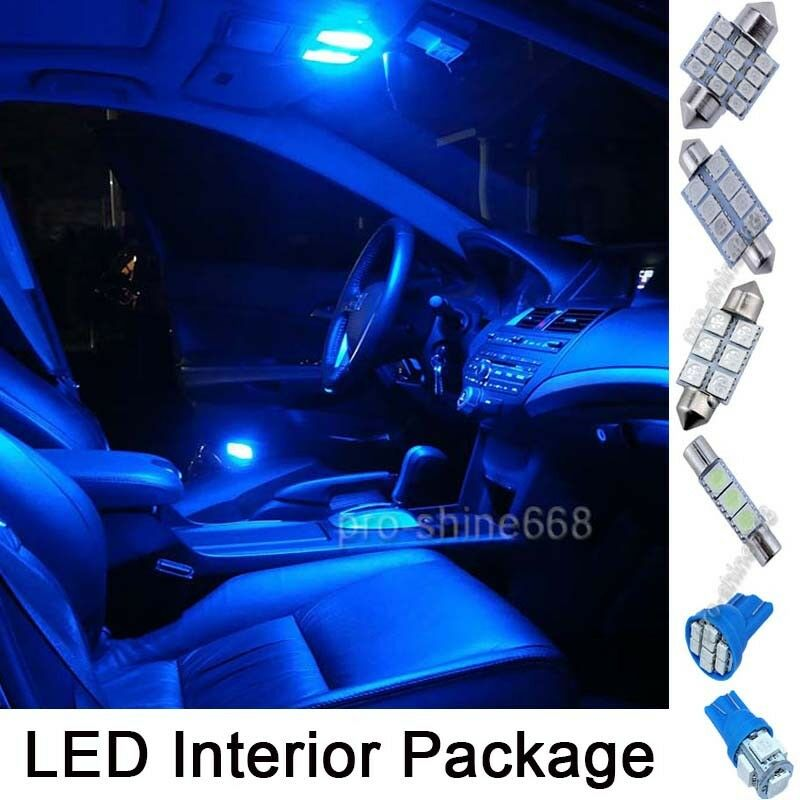 11pcs 12v Pure Deep Blue Car Led Light Interior Package For Chevy Suburban 00 06 Ebay