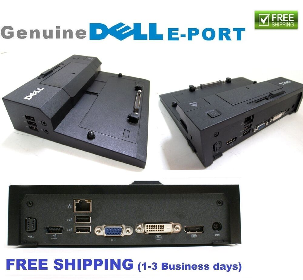 Dell Latitude E4300 Docking station manual