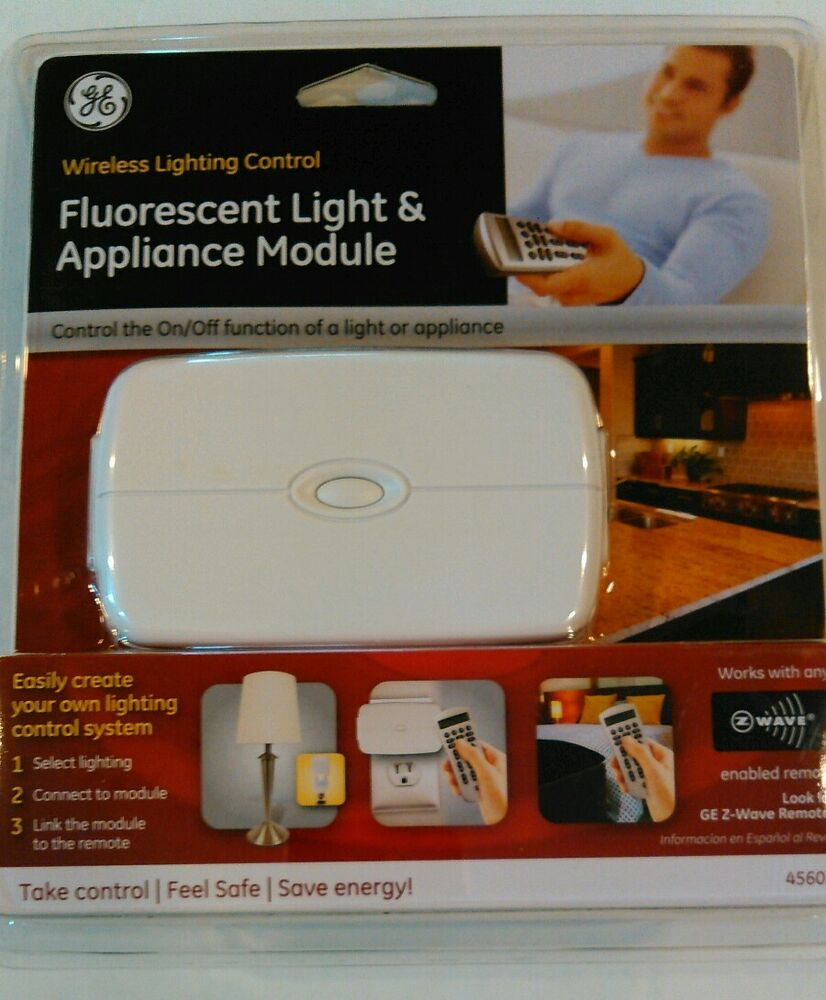 New GE Z-WAVE Home Automation Fluorescent LIGHTING AND