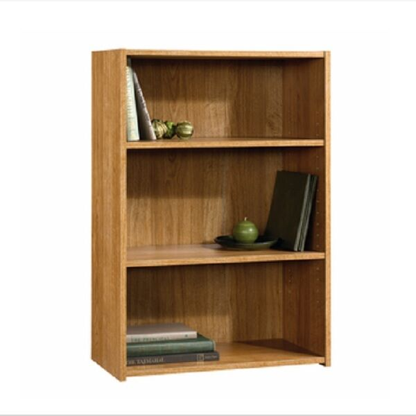 Sauder beginnings shelf wood bookcase bookshelf oak book
