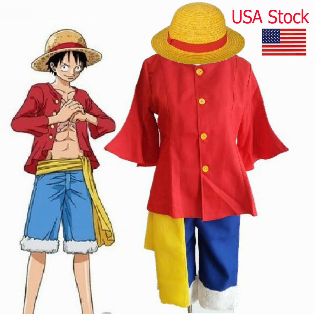 Luffy Gladiator Second Outfit: ONE PIECE 2nd Generation Monkey D Luffy ONE Cosplay