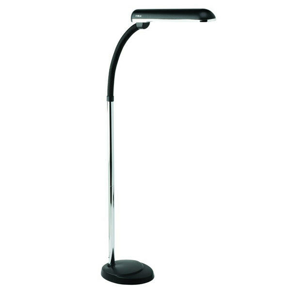Ott lite better vision floor lamp 24 watt for low vision office lighting ebay Ott light bulb
