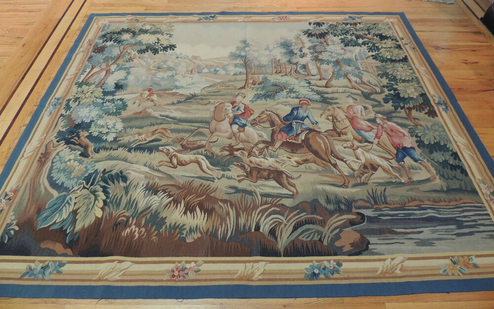 French Tapestry Oriental Area Rug Carpet 6x9 Wall Hanging
