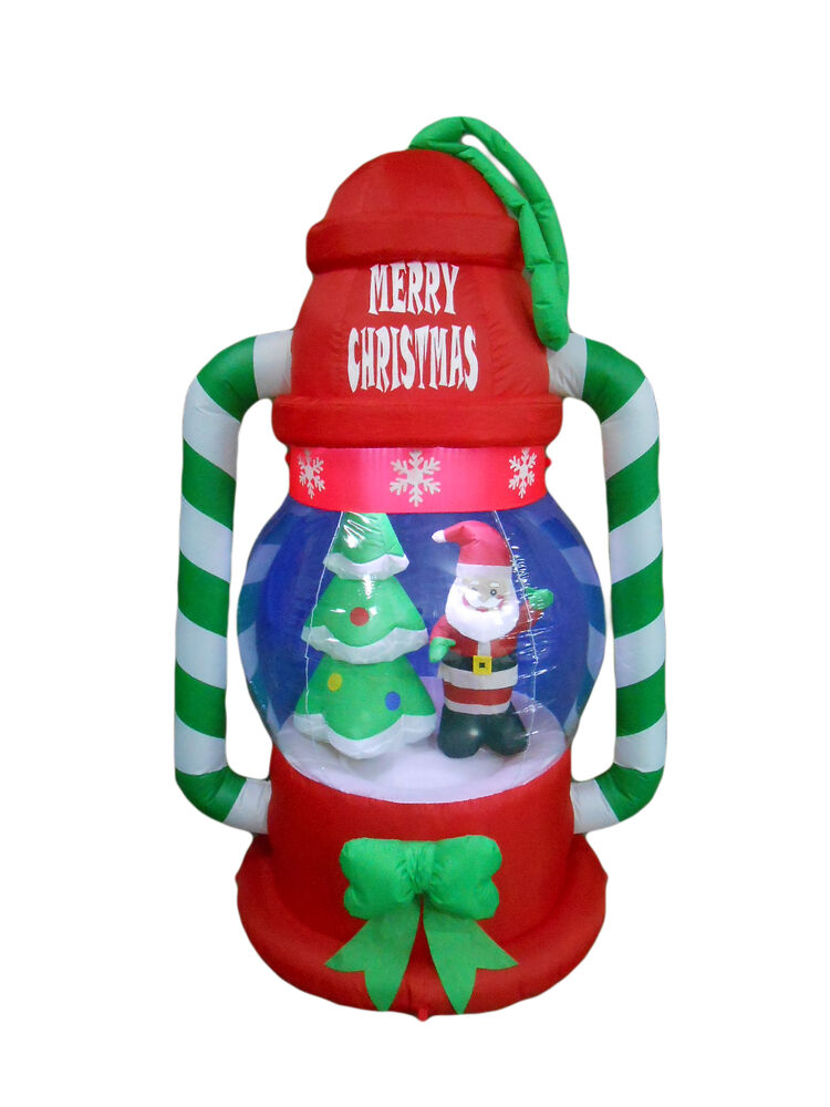 Christmas inflatable lantern lamp santa tree lights 2016 for New outdoor christmas decorations 2016