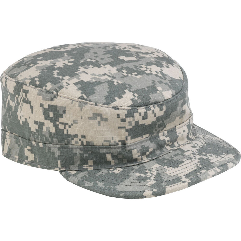 a06fc11221f NEW NWT US ARMY ACU PATROL CAP HAT Digital Camouflage SEKRI   BERNARD ALL  SIZES