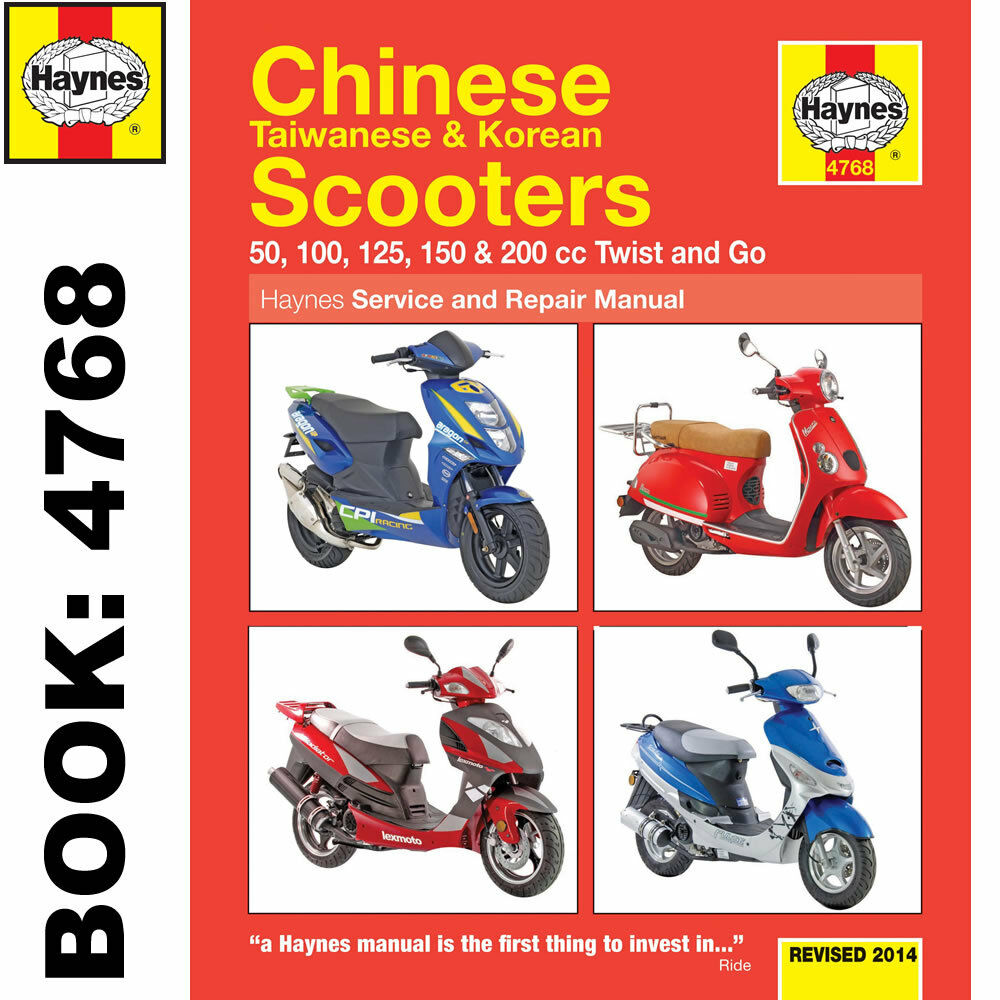 chinese taiwanese korean 50cc 125cc 150cc scooters haynes. Black Bedroom Furniture Sets. Home Design Ideas