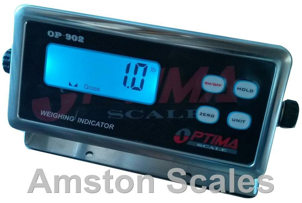 Load Cell Indicators : Digital scale display head monitor read out indicator load