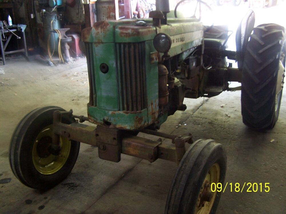 Tractor Steering Bar : Jd john deere w tractor power steering spd ebay