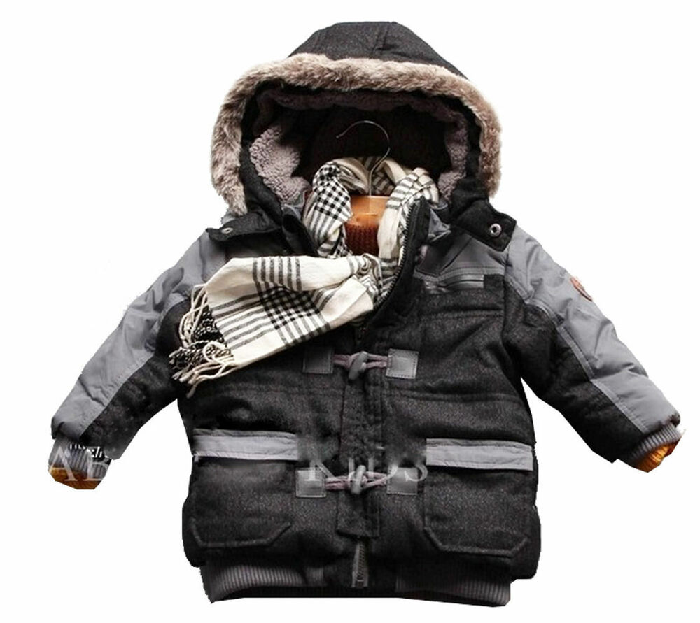 newborn infant baby boys thick winter warn coats jackets. Black Bedroom Furniture Sets. Home Design Ideas