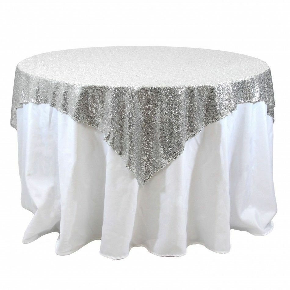 Gold Tablecloth Cake Table