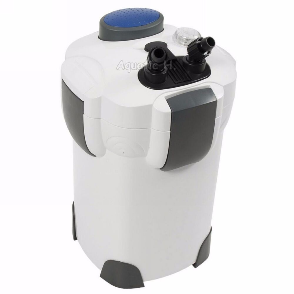 200 gallon aquarium fish tank external canister filter uv