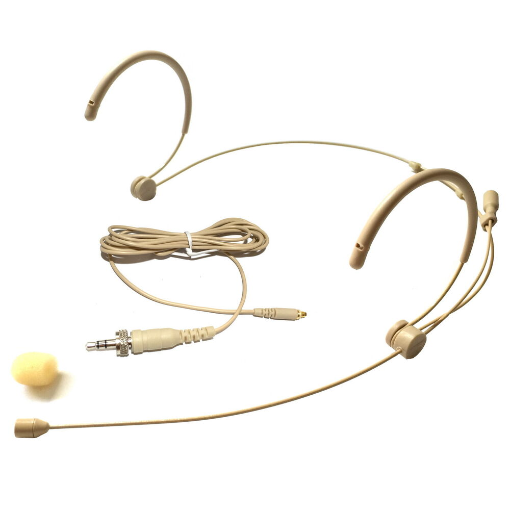 microdot 4016 headset microphone for sennheiser wireless detachable cable ebay. Black Bedroom Furniture Sets. Home Design Ideas