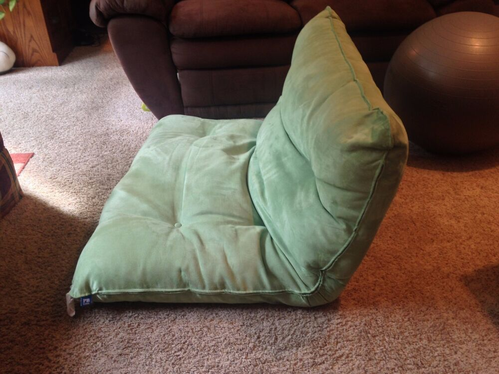 Nice PB Teen Single Flip Floor Lounger Green | EBay