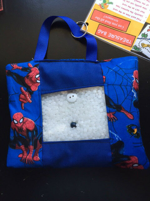 Sensory Toys For Adults With Autism : Treasure bag adhd autism sensory fidget toy spiderman ebay