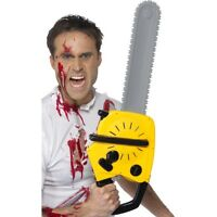 Unisex Chainsaw & Sound Texas Massacre Halloween Fancy Dress Movie Prop Fun