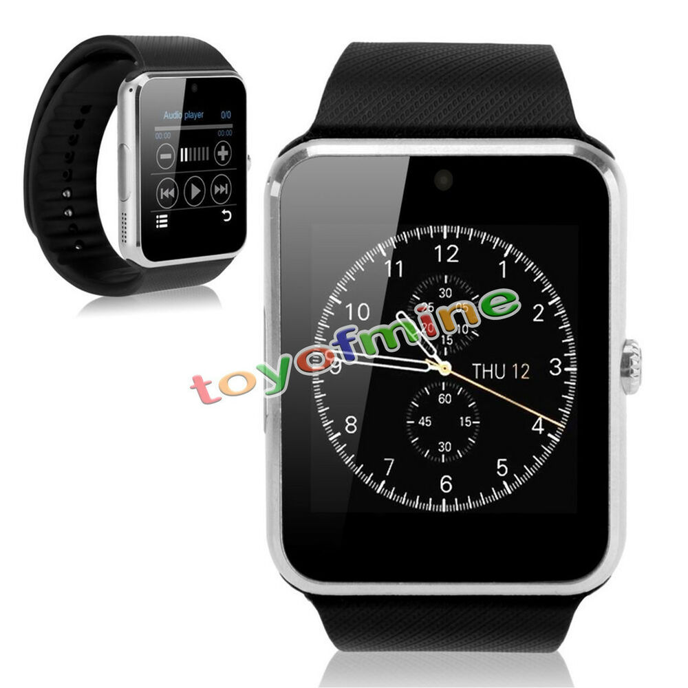 iphone smart watch 2015 gt08 bluetooth smart nfc wrist phone mate for 9761