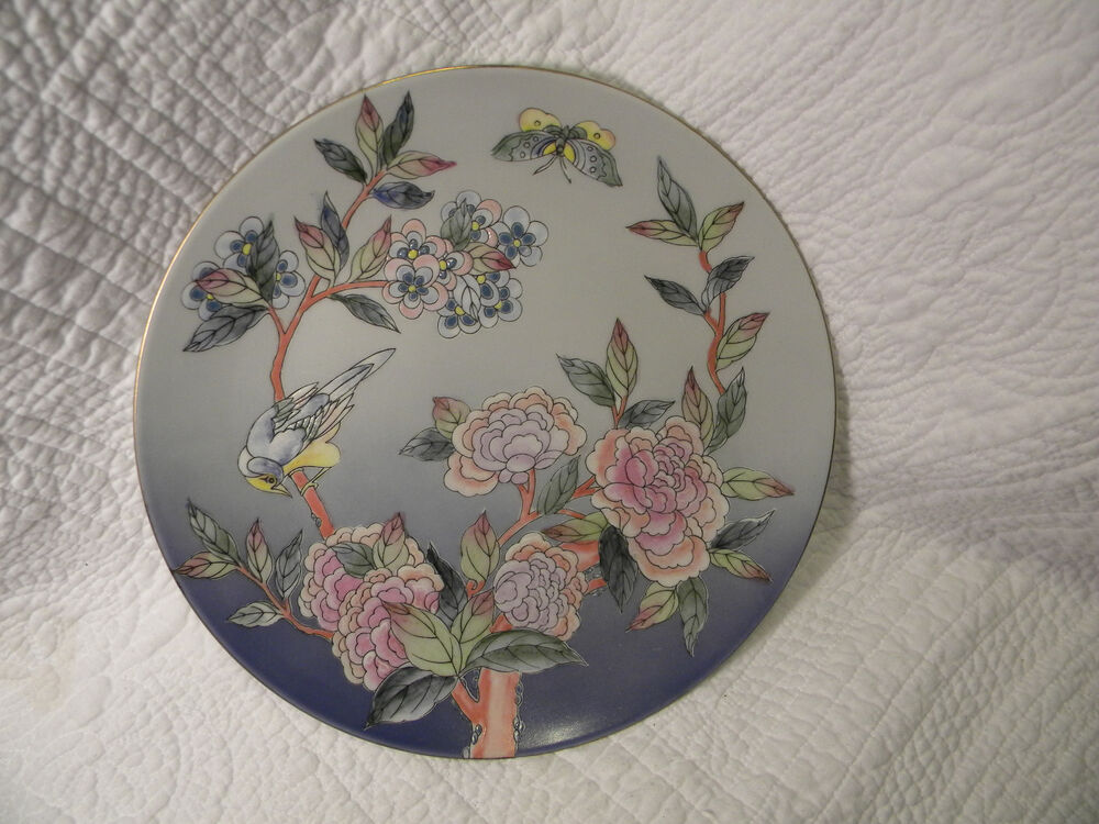Raymond Waites Designed Toyo Decorative Plate Blue W