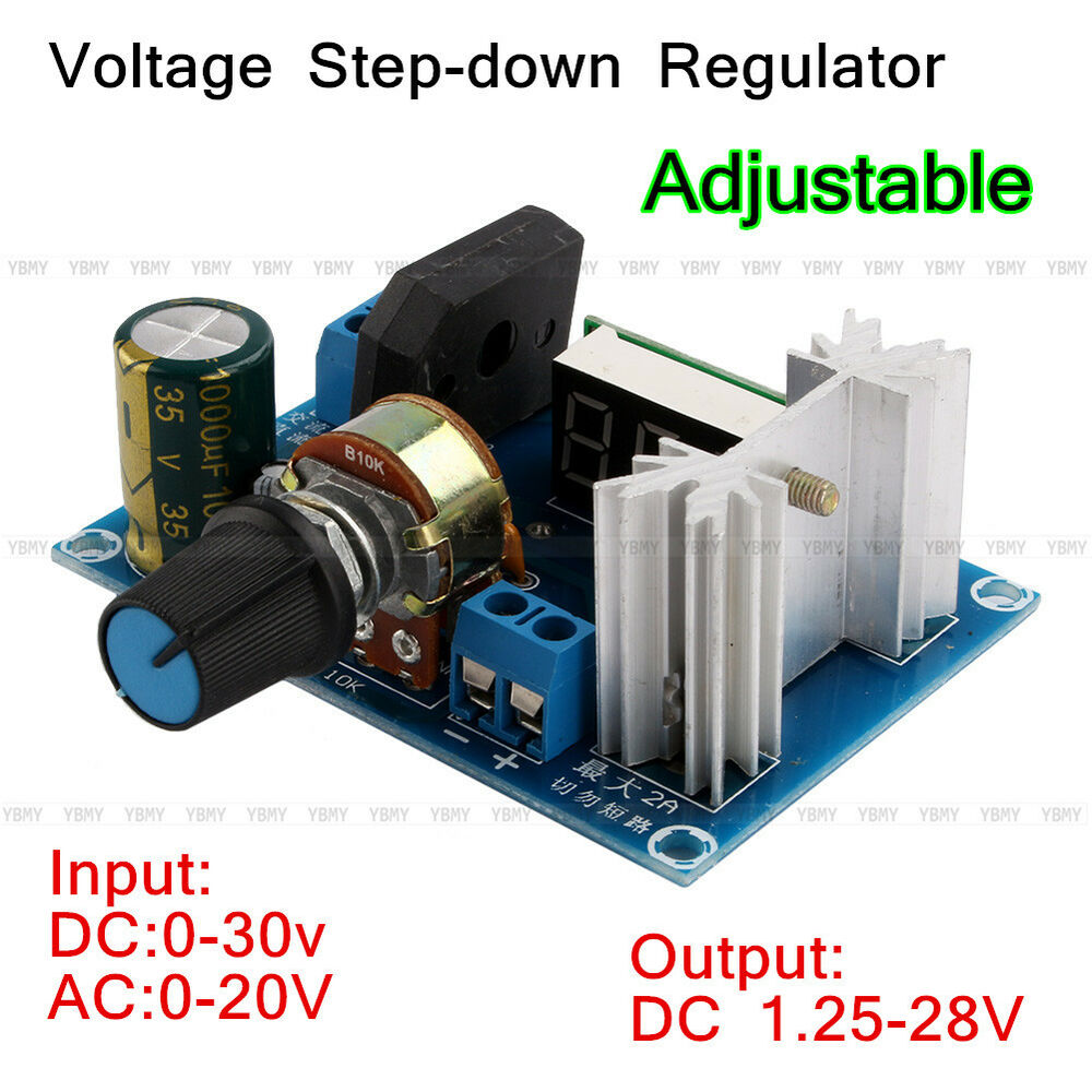 Pictures Of Adjustable Voltage Regulator Lm317 Schematic New Led Display Step