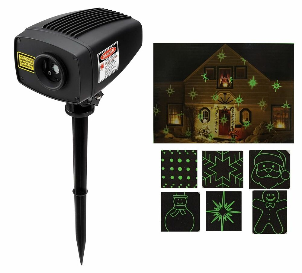 Mr Christmas Super Laser Green Outdoor Holiday Motion