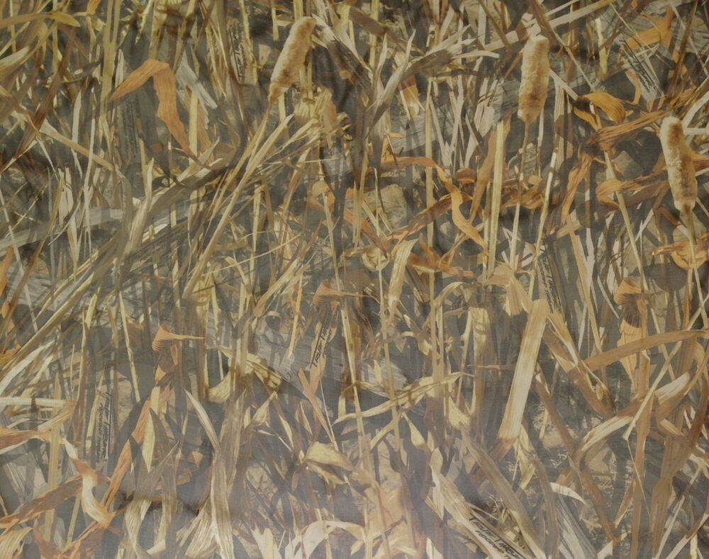 True Timber Flooded Sheer Duck Blind Curtain Camo