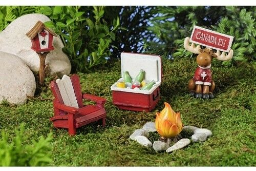 Miniature dollhouse fairy garden canada kit new ebay for Fairy door kits canada
