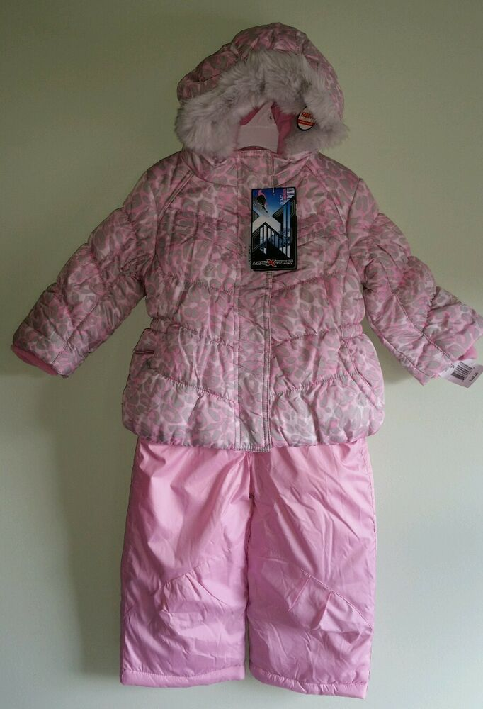 Nwt 100 Zero Xposur Girls 2t Winter Coat Amp Bib Snow Pants