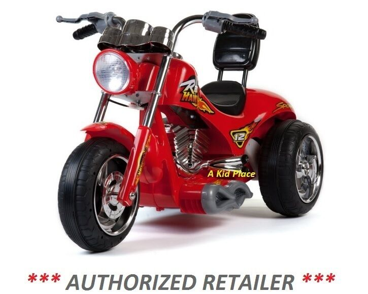 mini motos red hawk motorcycle 12v battery operated children 39 s ride on toy new ebay. Black Bedroom Furniture Sets. Home Design Ideas