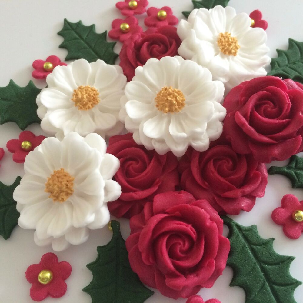Sugar Flowers For Wedding Cakes To Buy
