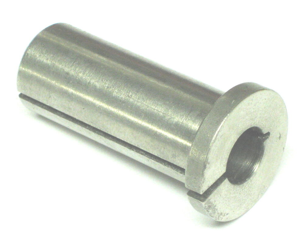 Quot od id hole split sleeve spring collet adapter