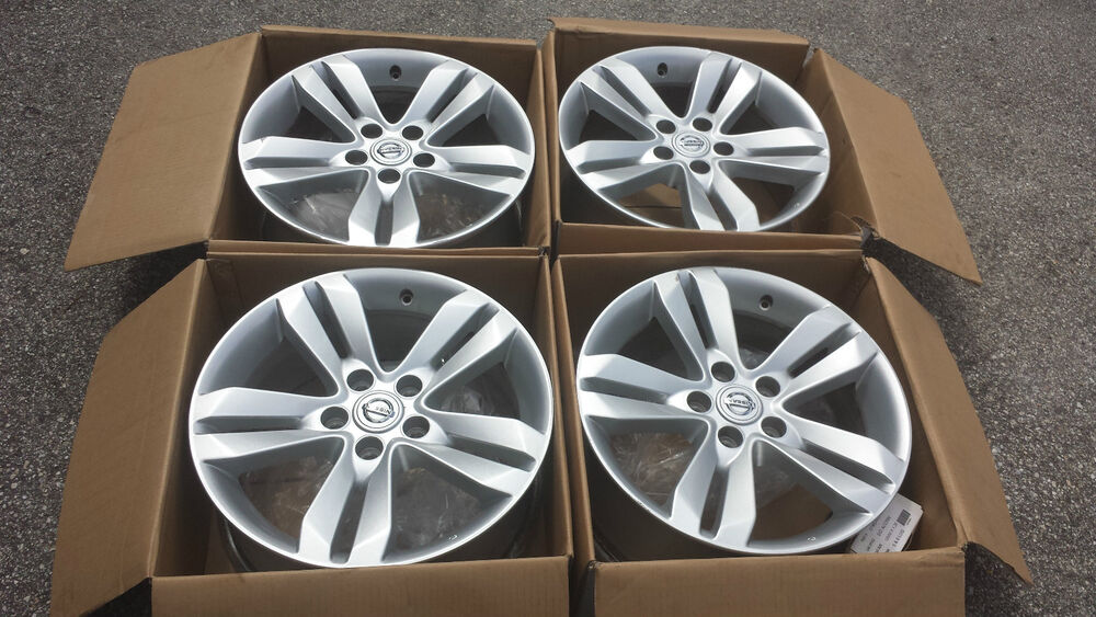 17 nissan altima 2010 2011 2012 2013 wheels rims factory oem 40300zx01b ebay. Black Bedroom Furniture Sets. Home Design Ideas