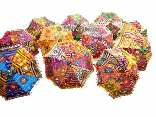 wholesale lot of 10 pc traditional indian parasol