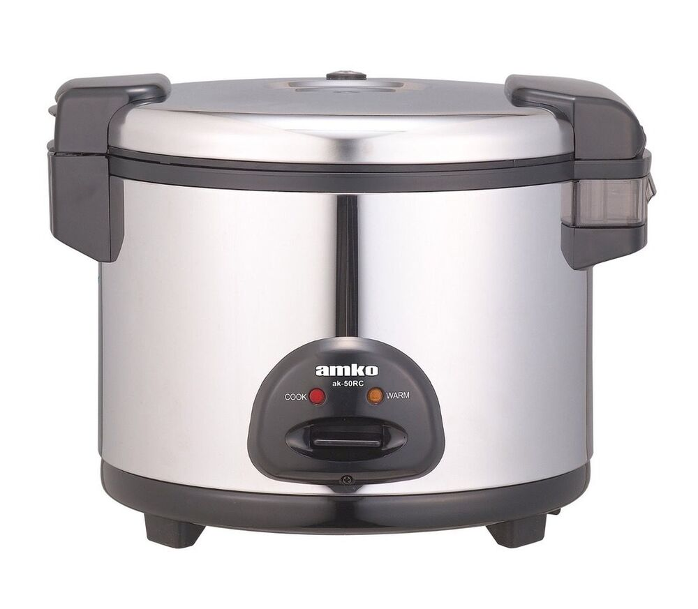 Electric Rice Cooker ~ Amko ak rc electric rice cooker ebay