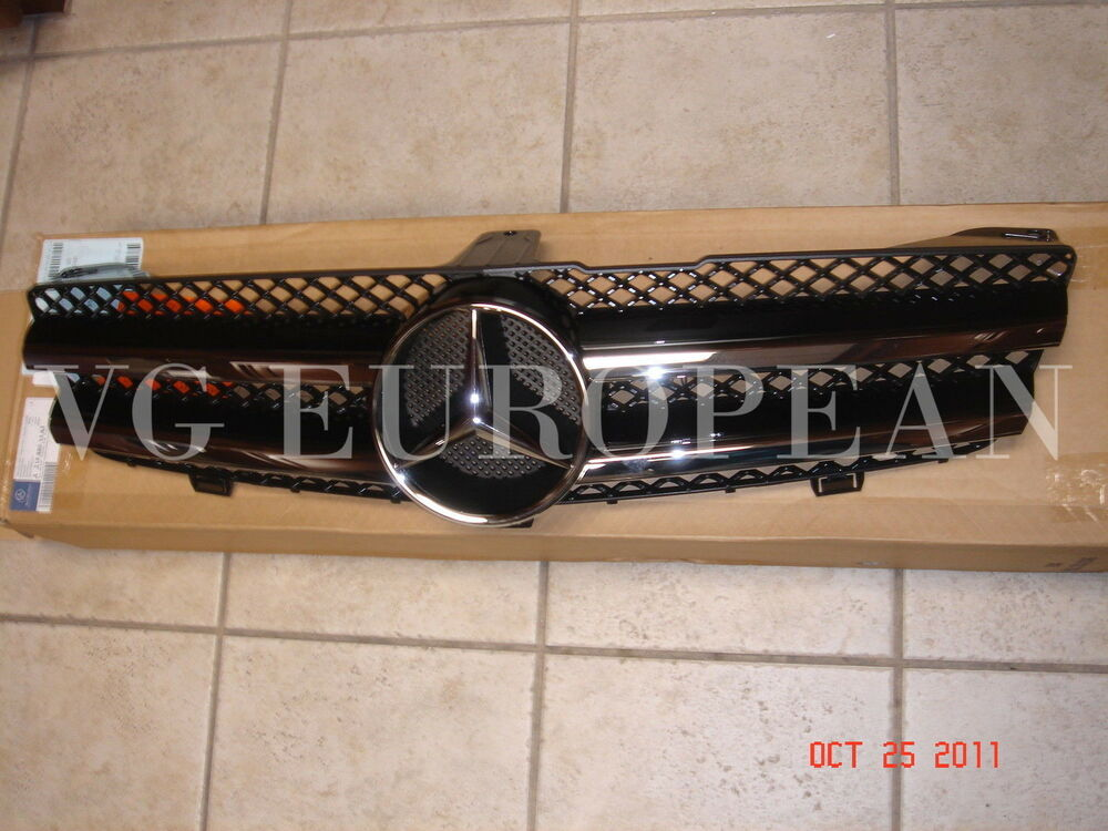 Mercedes benz genuine amg front grille cls63 cls550 cls for Genuine mercedes benz parts