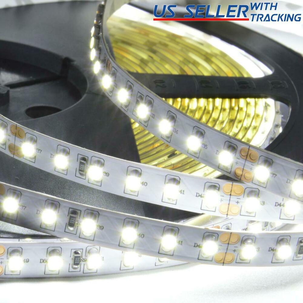 abi 1200 led strip light 10m super bright double density cool white 6000k 24v ebay. Black Bedroom Furniture Sets. Home Design Ideas