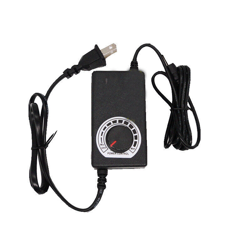 Universal ac dc adapter dc 6 12v power supply speed for 240v motor speed controller