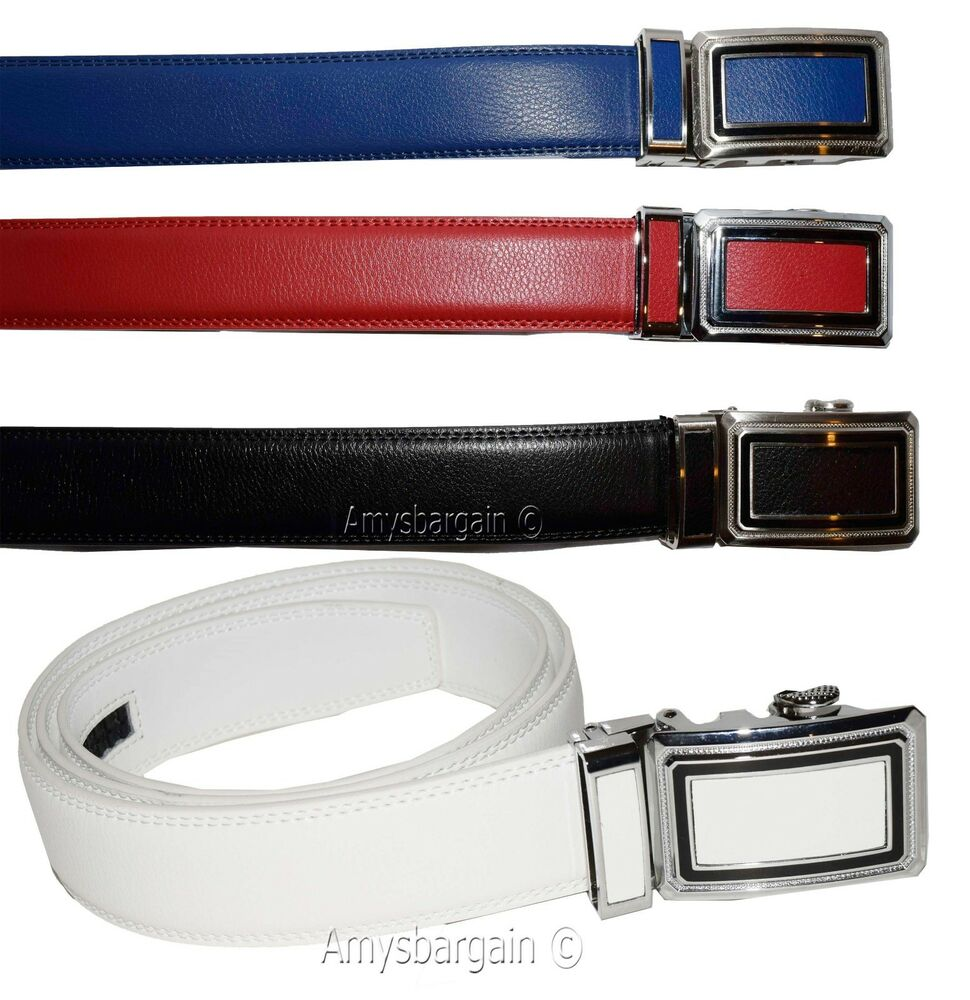 leather belt s belt lock belt auto lock belt
