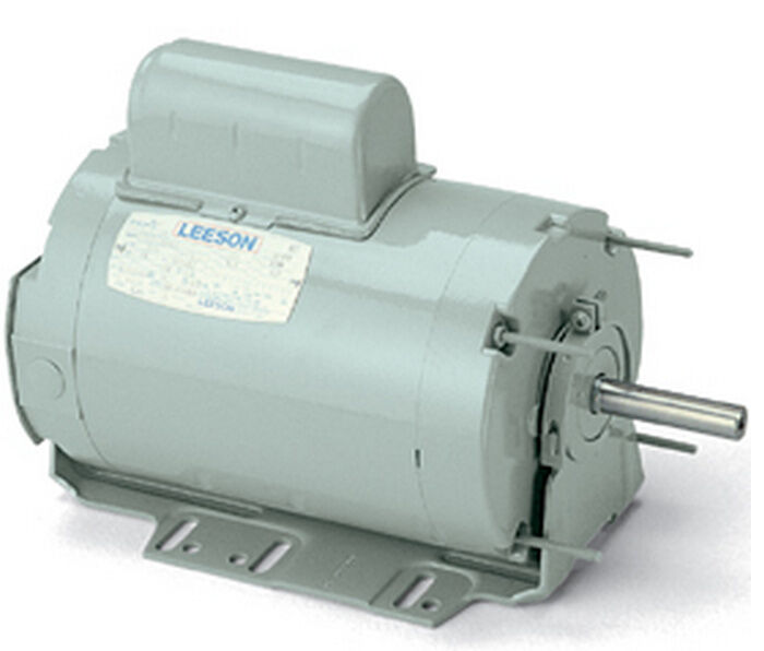 Leeson electric motor a6p8nr2f 1 2 hp 825 rpm 1 for Half horsepower electric motor