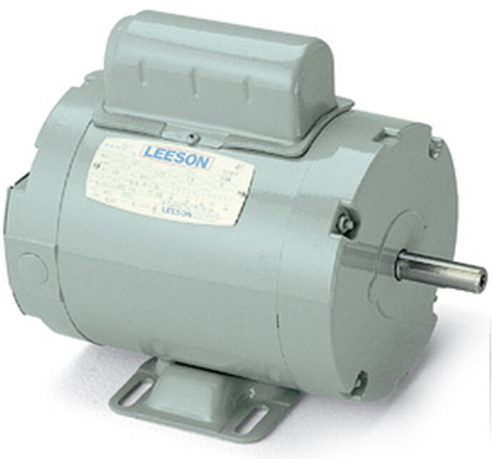 Leeson electric motor c6c34nb19h 1 5 hp 3450 rpm for Electric motor 1 5 hp