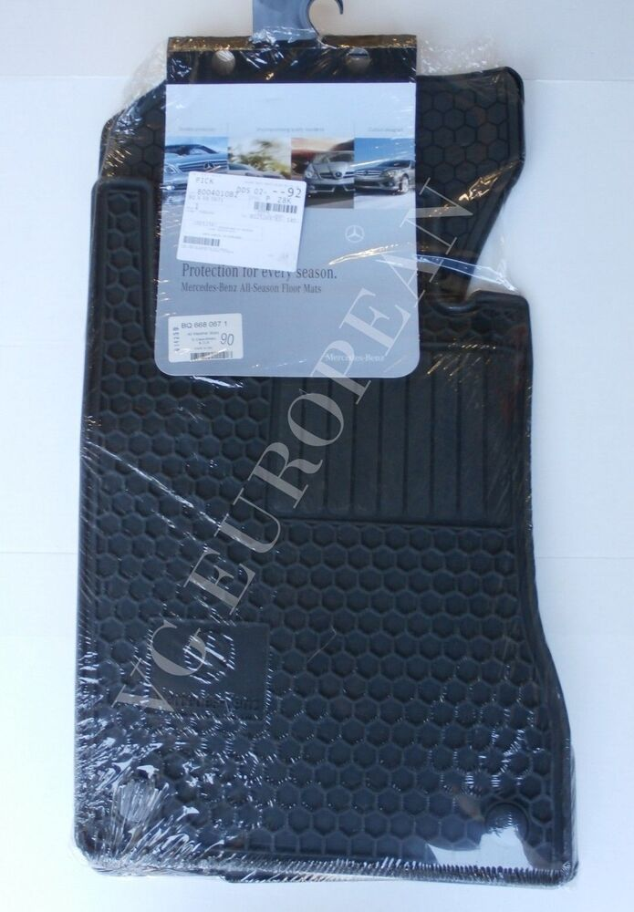 Mercedes benz w211 e class 4matic genuine all season for Mercedes benz e350 floor mats
