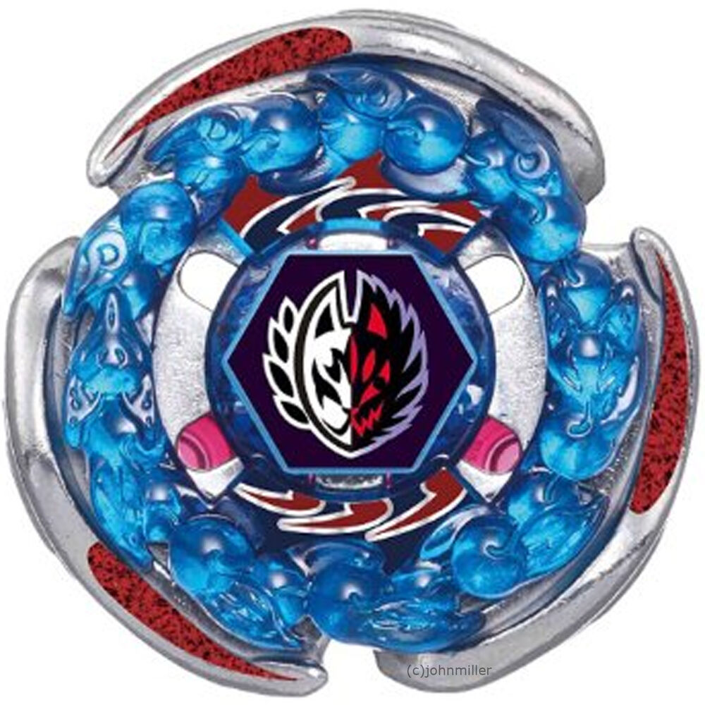 Screw fox spiral fox metal fury random booster 8 beyblade bb 116 usa seller ebay - Toupi blade blade ...