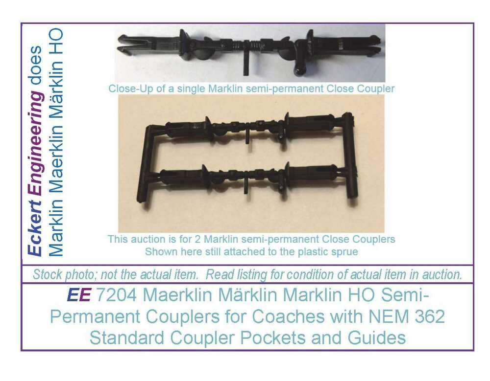 Model Railroad Coupler Types : Ee new maerklin märklin marklin ho semi permanent
