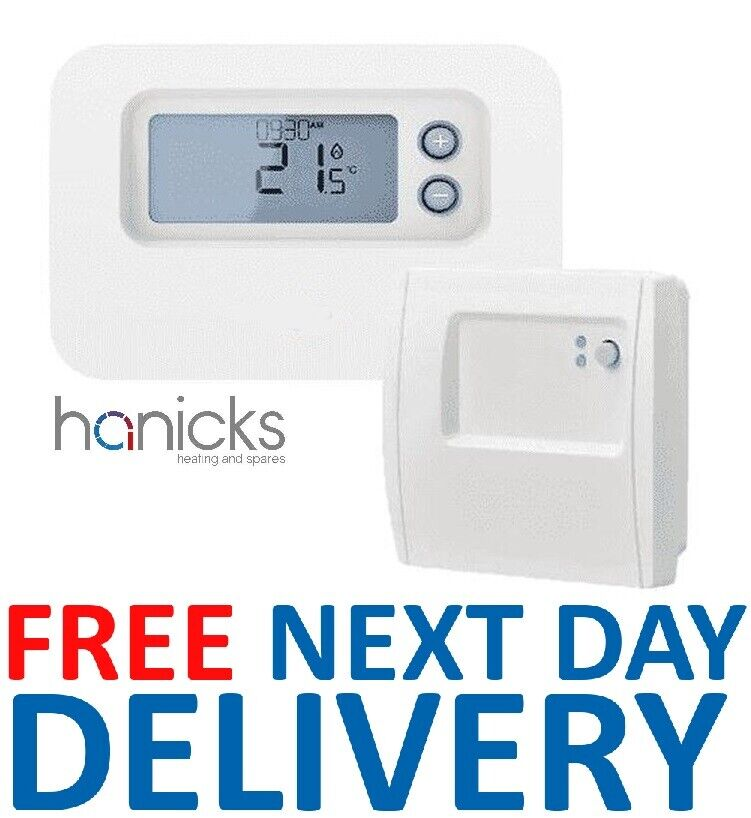 Baxi Rf Wireless 24 Hour Programmable Room Thermostat