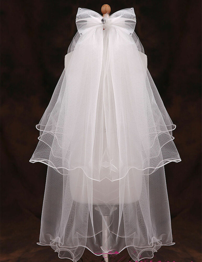how to make a wedding veil with comb