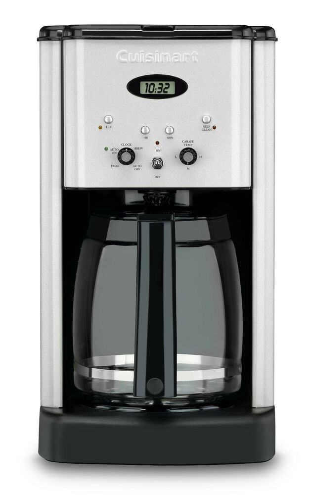 Cuisinart Coffee Maker Dc1200 Reviews : New Cuisinart DCC-1200 Brew Central 12-Cup Programmable Coffeemaker 86279110282 eBay