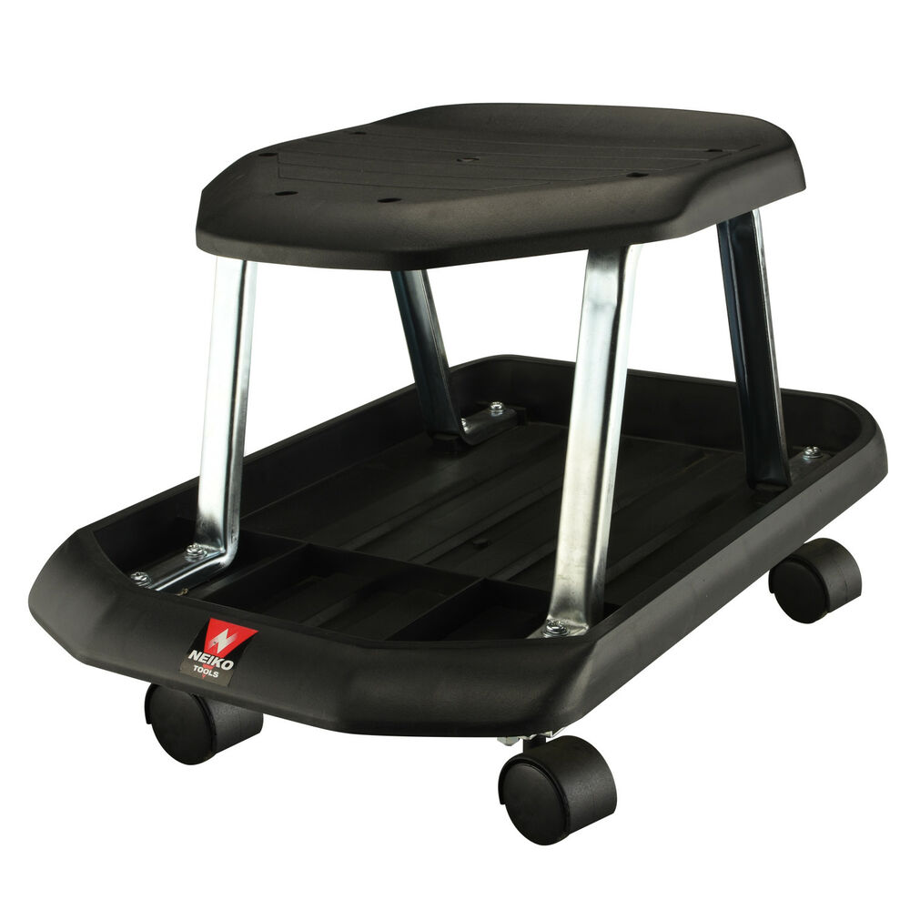 Mechanics Rolling Shop Seat Creeper Roller Garden Stool