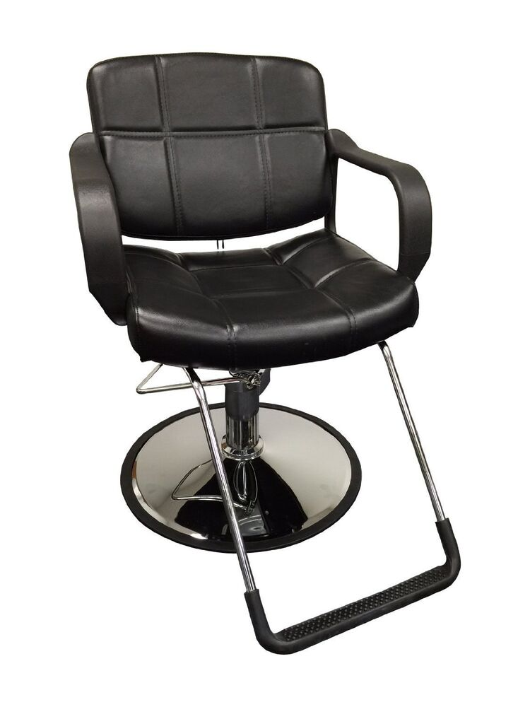 20 wide hydraulic barber chair styling salon beauty for Hydraulic chairs beauty salon