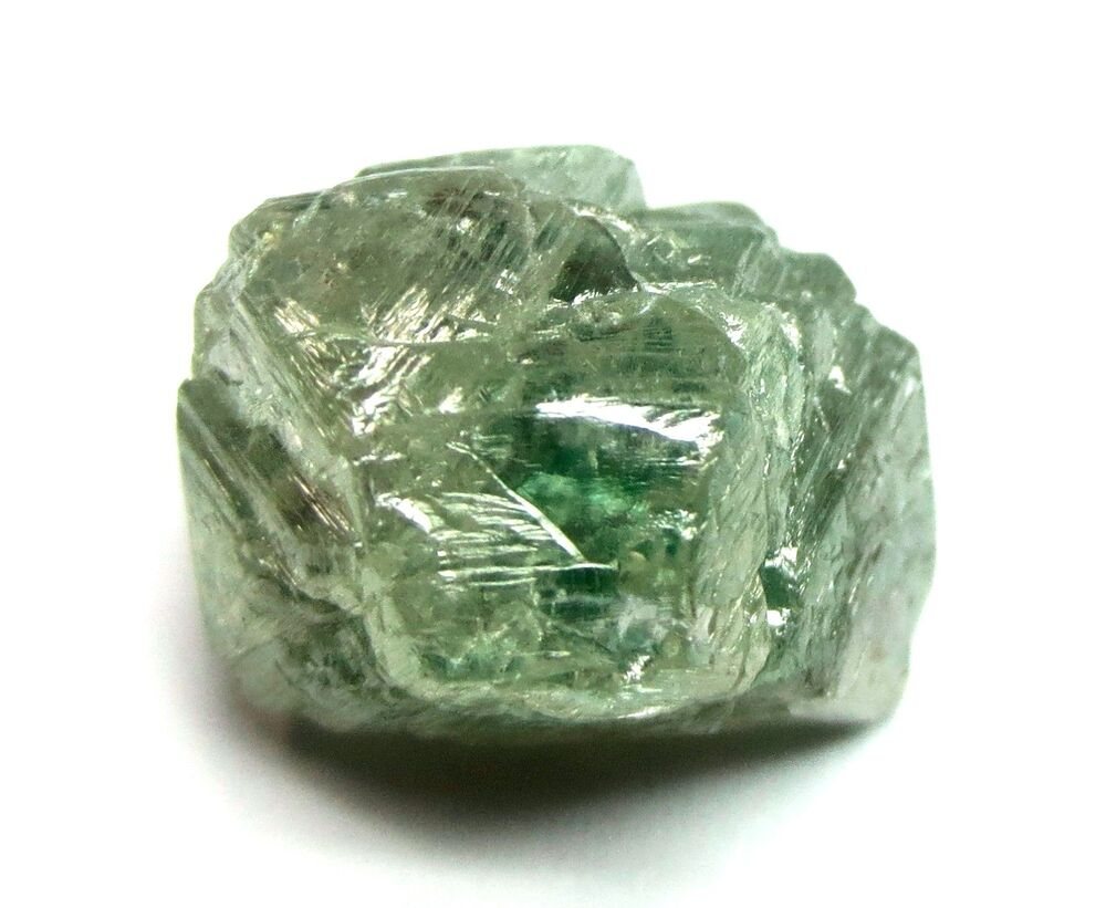 Raw Rough Diamond And Quotes: 10.99 Carats Unique Green GEMMY Uncut Raw Natural Rough